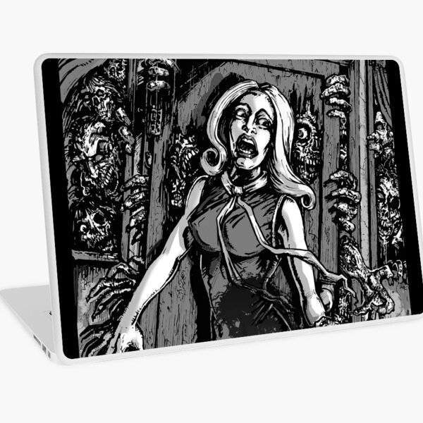 House of Zombies Laptop Skin