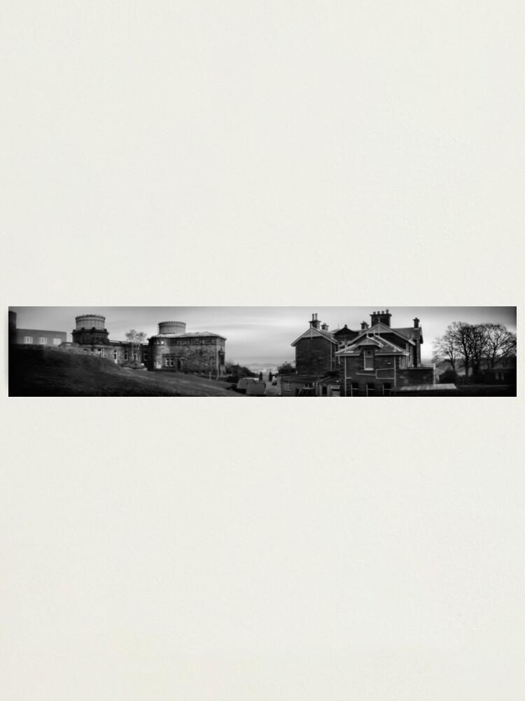 Alternate view of Royal Observatory, Edinburgh Photographic Print