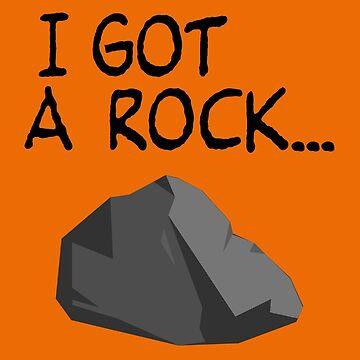 Ich habe einen Felsen ... von cpinteractive