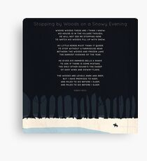 Robert Frost Canvas Print