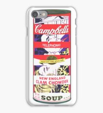 Telephonic Soup. iPhone Case/Skin