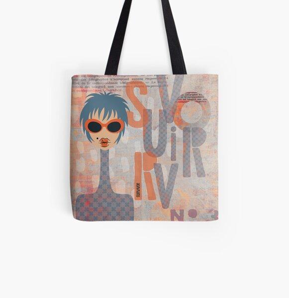 Survivor All Over Print Tote Bag