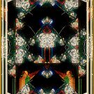 Triumph - Card XII from The Tarot of Flowers by RC deWinter