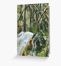 Tranquilty - Encaustic Painting Greeting Card