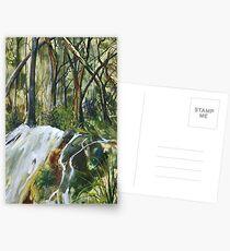 Tranquilty - Encaustic Painting Postcards
