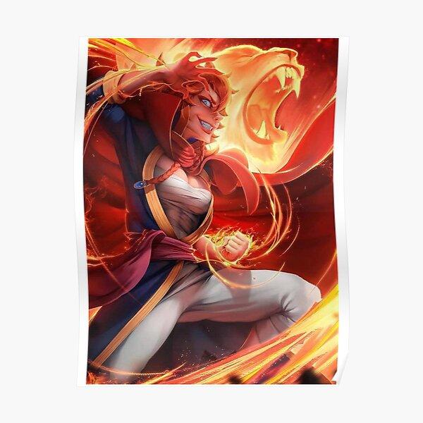 Mereoleona Vermillion - Fire Magic Poster