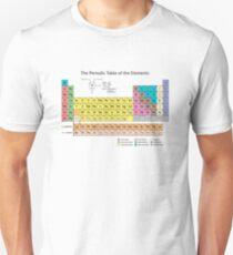 Periodensystem der Elemente Slim Fit T-Shirt