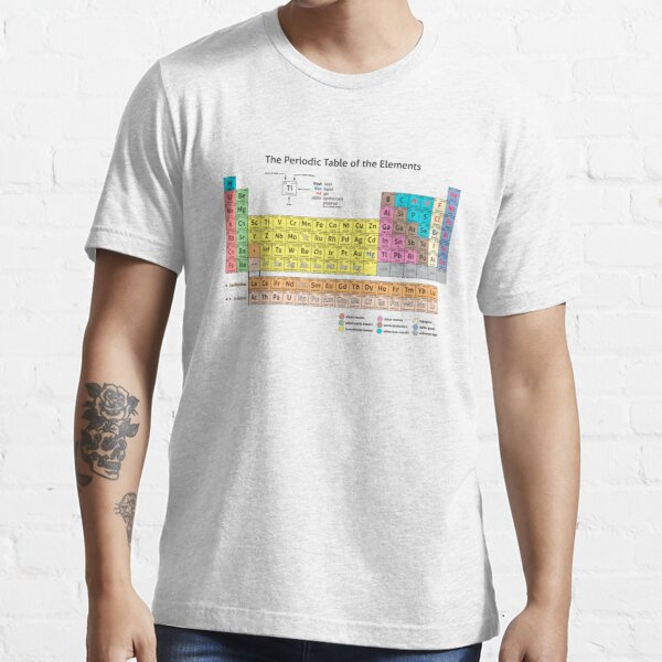 Periodic Table of the Elements  Essential T-Shirt