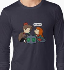The Doctor Is Not Listening Long Sleeve T-Shirt