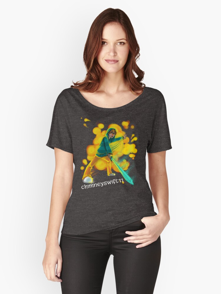 The ChimneySwift11™ Women's Relaxed Fit T-Shirt Front