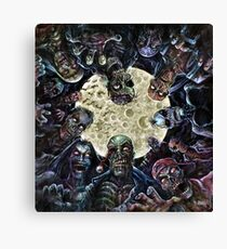 Zombies Attack (Zombie horde) Canvas Print