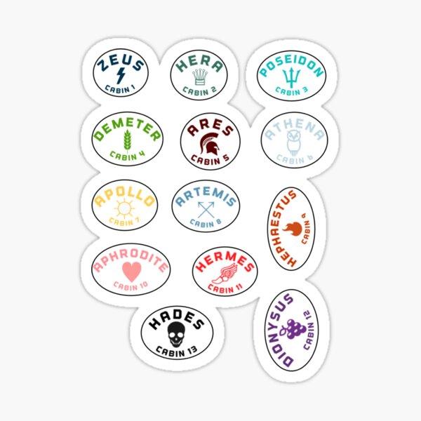 PJO Cabin Pack Sticker