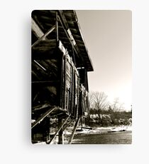 Tattered History Canvas Print