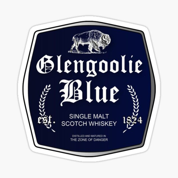 Glengoolie Blue Sticker