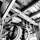 Old Lumber Wheels by Jessica Bradford