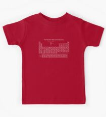 The Periodic Table of the Elements Kids Clothes