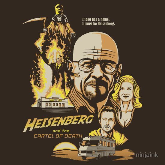 TShirtGifter presents: Heisenberg and the Cartel of Death