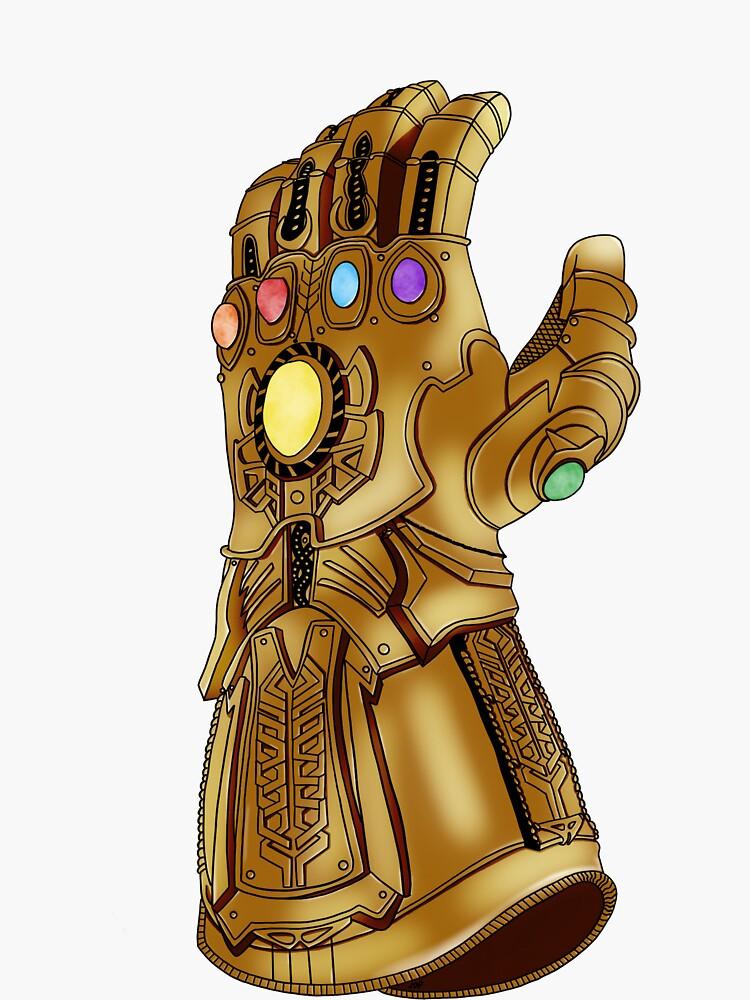 The Infinity Gauntlet by jackiedp123