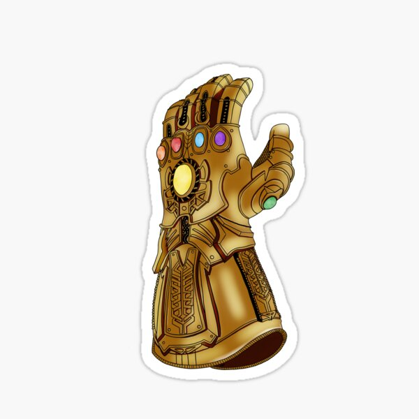 The Infinity Gauntlet Sticker