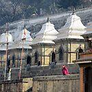 Pashupatinath Morning II by Harry Oldmeadow