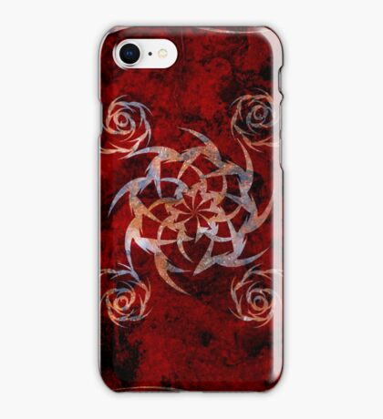 Iphone cover- Rose and thorns iPhone Case/Skin