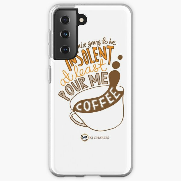 Make Me Coffee Samsung Galaxy Soft Case