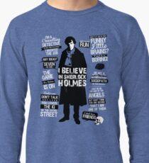 Detective Quotes Lightweight Sweatshirt