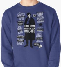 Detective Quotes Pullover
