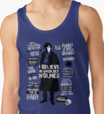 Detective Quotes Tank Top