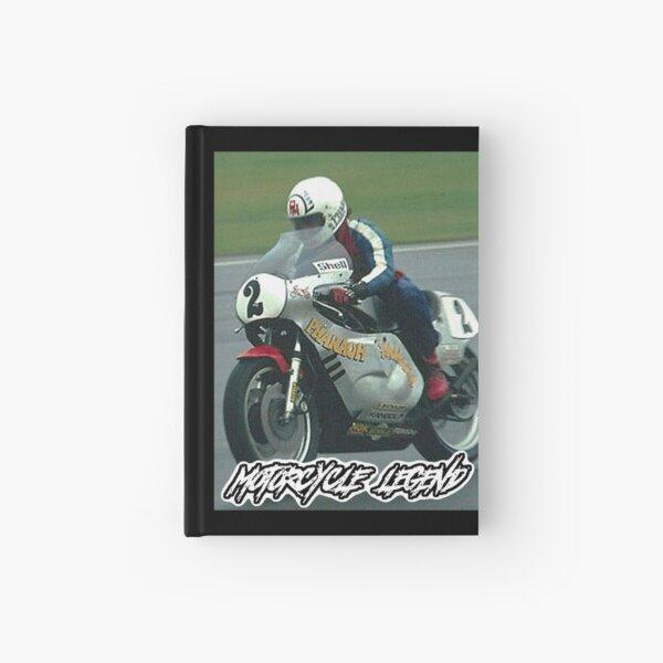 Rocket Ron Haslam, Motorcycle Legend Hardcover Journal