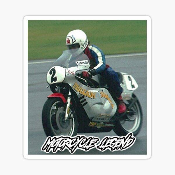 Rocket Ron Haslam, Motorcycle Legend Sticker