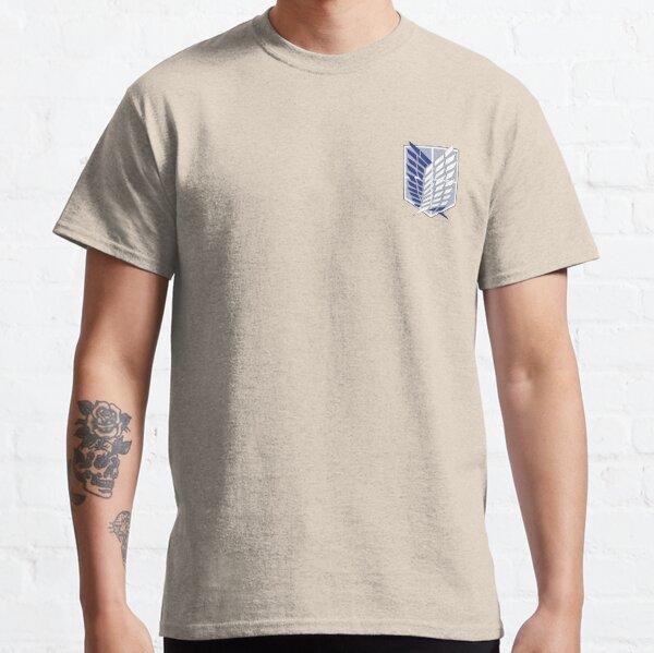 Plain Attack on Titan Survey Corps logo Classic T-Shirt