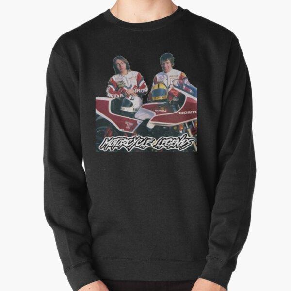 Ron and Joey, Motorcycle Legends Pullover Sweatshirt