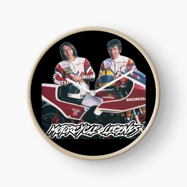Ron and Joey, Motorcycle Legends Clock