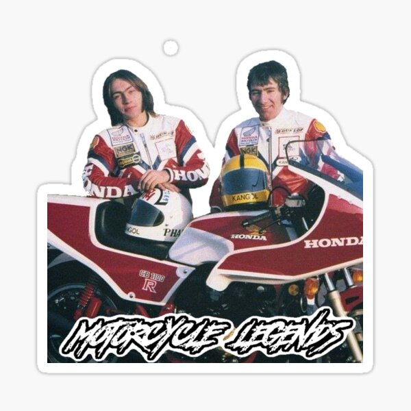 Ron and Joey, Motorcycle Legends Sticker