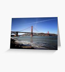 Golden Gate Bridge I Greeting Card