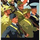 Allied Troops; WW2 by Ian A. Hawkins