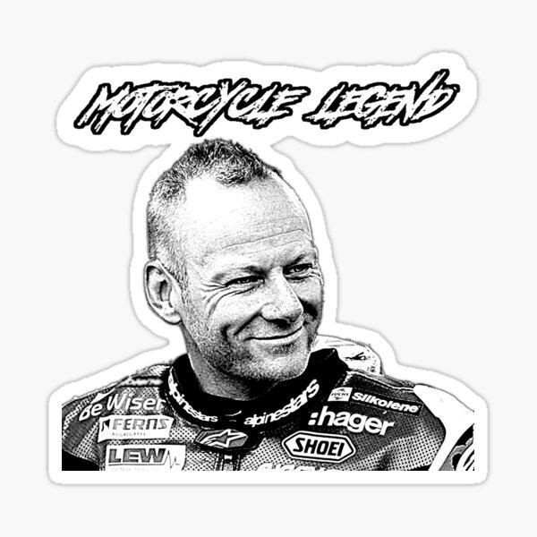 Shakey Byrne, Motorcycle Legend Sticker