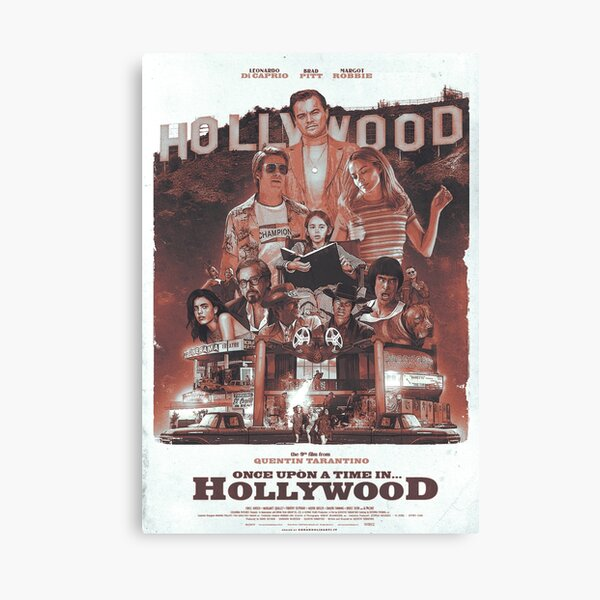Once Upon A Time in... Hollywood Canvas Print