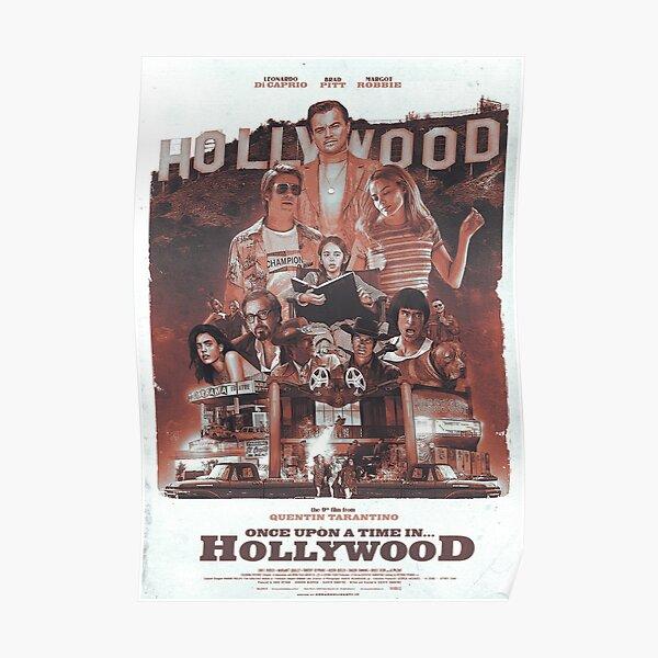 Il était une fois à ... Hollywood Poster