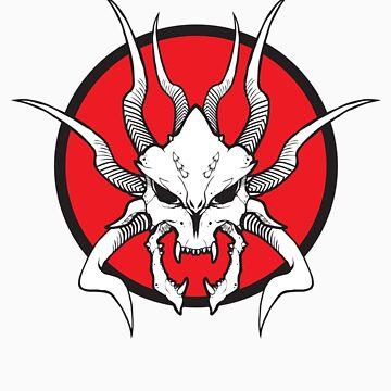 Daemon Skull by Zekie