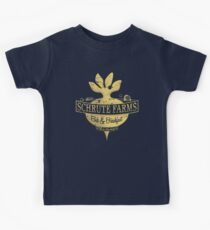 Schrute Farms (Special Mose edition!) Kinder T-Shirt