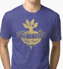 Schrute Farms (Special Mose edition!) Tri-blend T-Shirt