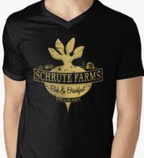 Schrute Farms (Special Mose edition!) Men's V-Neck T-Shirt