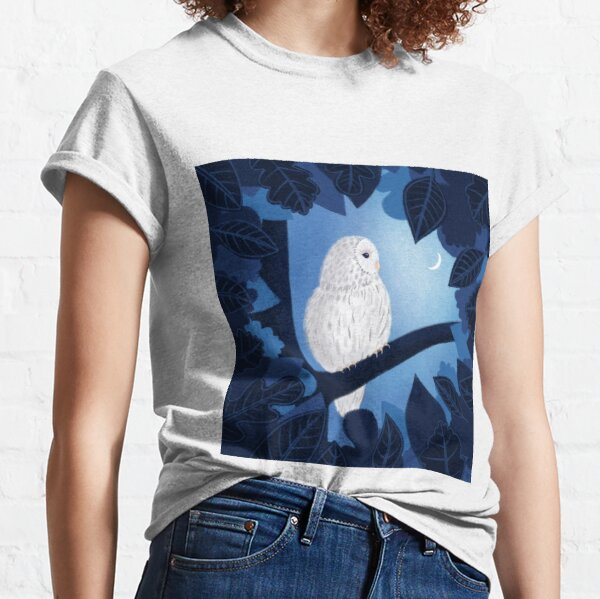 Schneeeule, Eule Classic T-Shirt