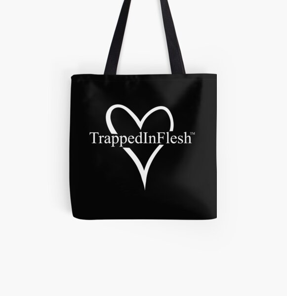 TrappedInFlesh™ All Over Print Tote Bag