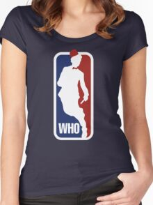 WHO Sport No.11 Women's Fitted Scoop T-Shirt