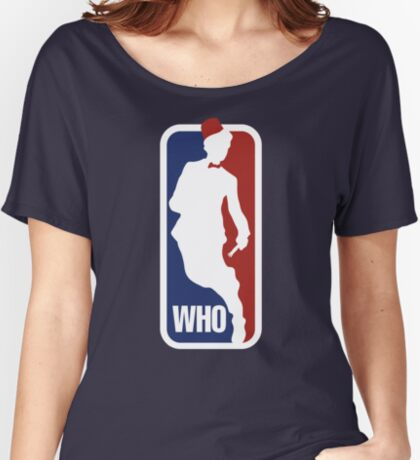 WHO Sport No.11 Women's Relaxed Fit T-Shirt