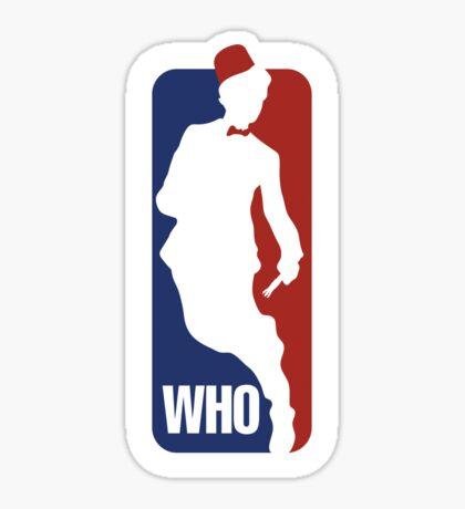 WHO Sport No.11 Sticker