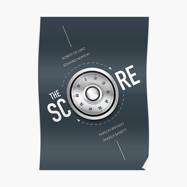 The Score - Alternative Movie Poster Poster